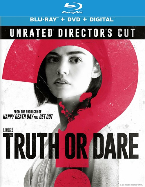 Truth or Dare (Blu-ray + DVD + Digital HD) Boxcover