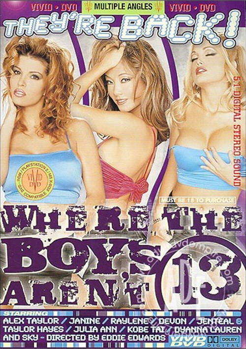 Where The Boys Aren't #13 Boxcover