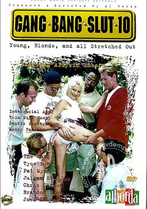Gang Bang Slut 10 Boxcover