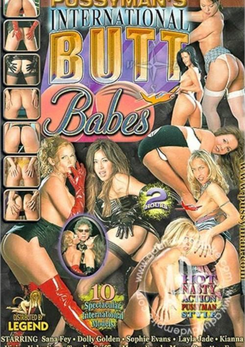 Pussyman's International Butt Babes Boxcover