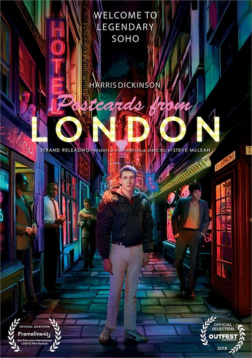 Postcards from London Boxcover
