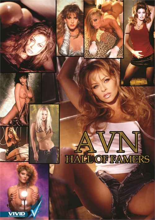 AVN Hall of Famers Boxcover