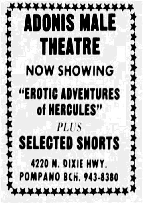 Erotic Adventures of Hercules Boxcover