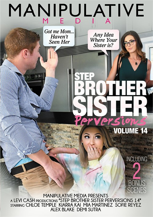 Step Brother Sister Perversions 14 Boxcover