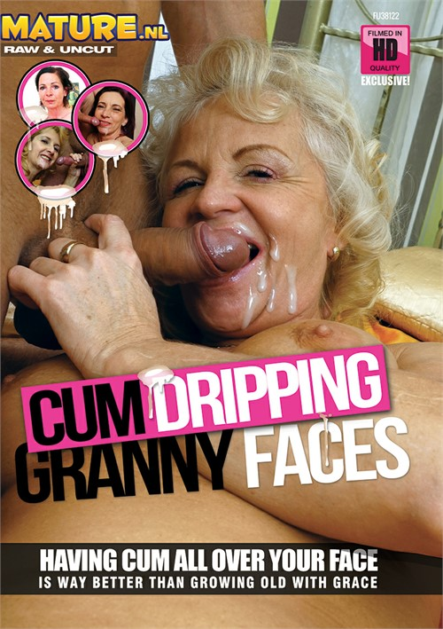 Cum Dripping Granny Faces Boxcover