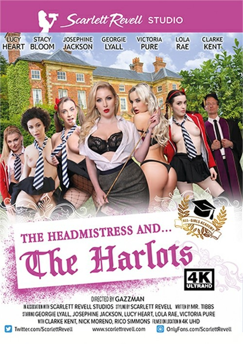 Headmistress And . . . The Harlots, The Boxcover