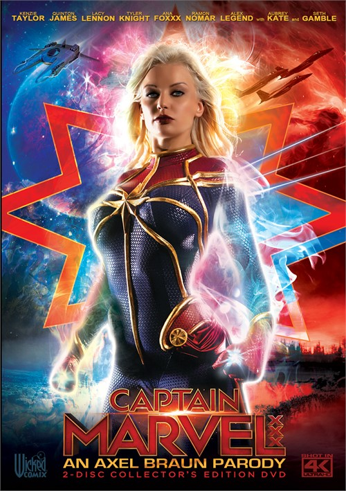 Captain Marvel XXX: An Axel Braun Parody Image