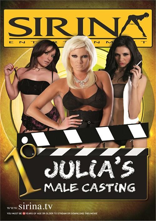Julia's Male Casting Boxcover