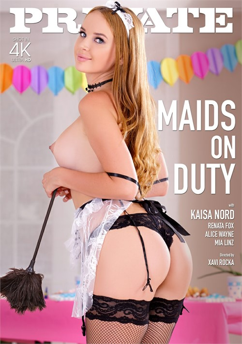 Maids on Duty Boxcover