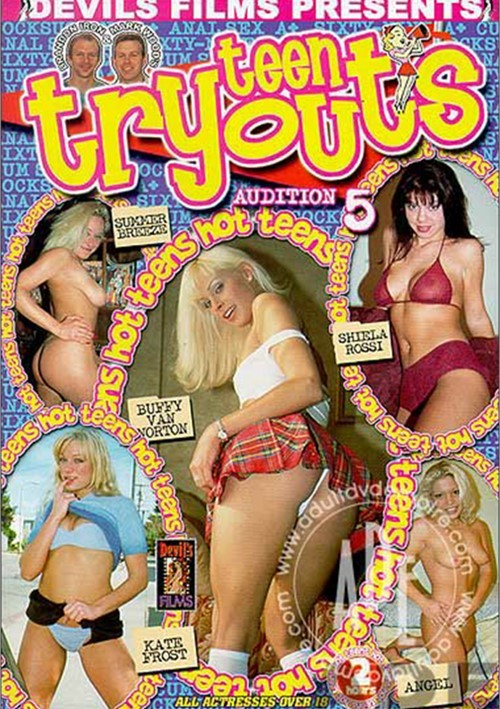 Teen Tryouts: Audition 5 Boxcover