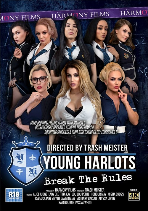 Young Harlots: Break The Rules Boxcover