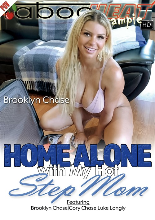 Brooklyn Chase in Home Alone With My Hot Stepmom Boxcover