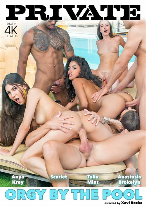 Orgy By The Pool Boxcover