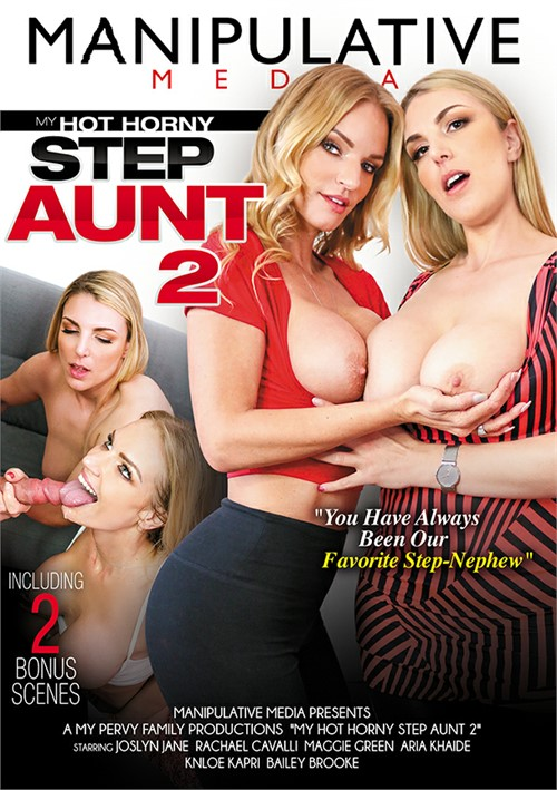 My Hot Horny Step Aunt 2 Boxcover