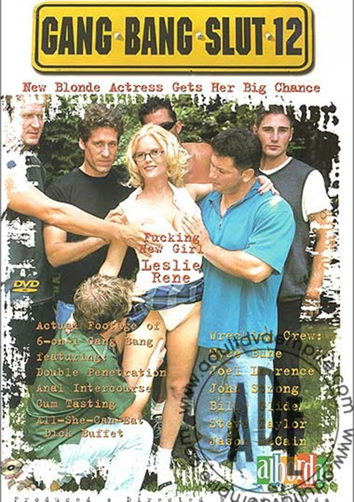 Gang Bang Slut 12 Boxcover