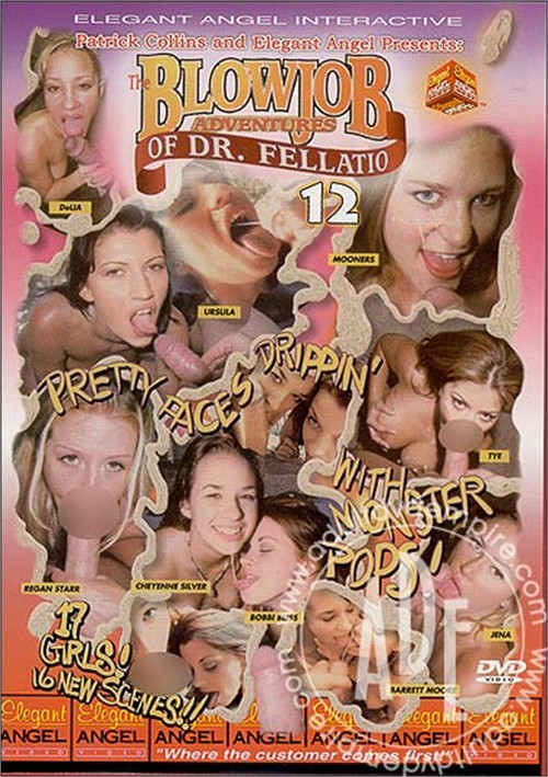 Blowjob Adventures of Dr. Fellatio #12, The Boxcover