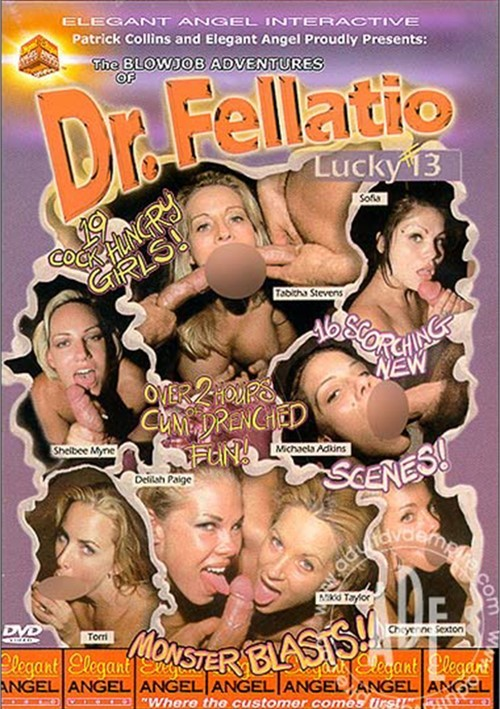 Blowjob Adventures of Dr. Fellatio #13, The Boxcover