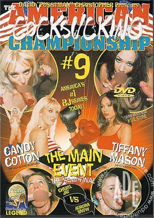 American Cocksucking Championship 9, The Boxcover