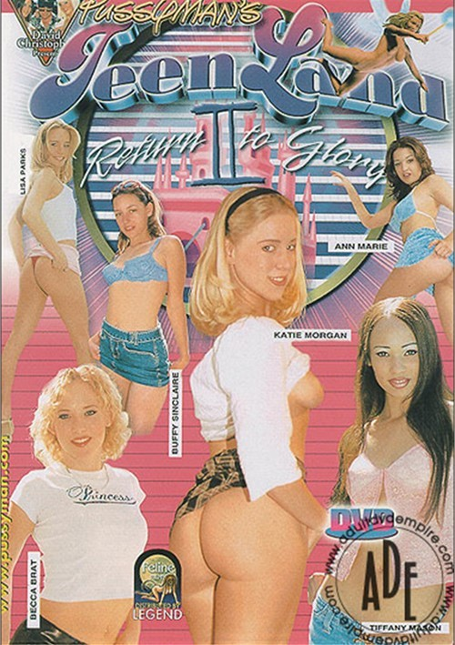 Pussyman's Teen Land 2 Boxcover