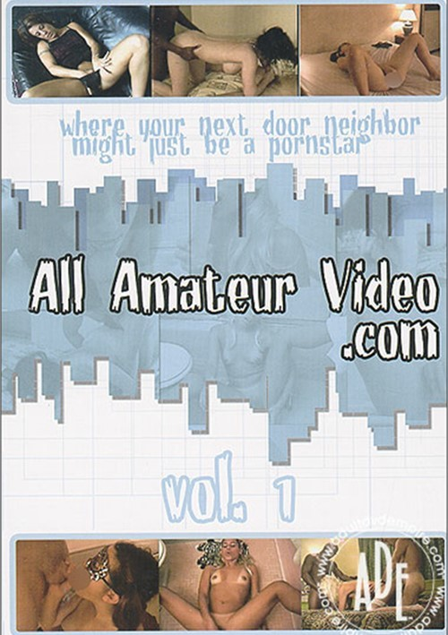 All Amateur Video Boxcover