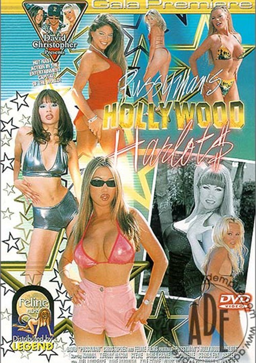 Pussyman's Hollywood Harlots Boxcover