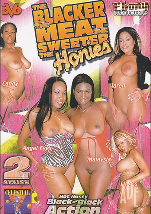 Blacker the Meat the Sweeter the Honies, The Boxcover