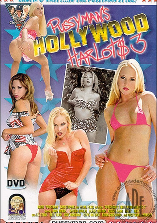 Pussyman's Hollywood Harlots 3 Boxcover