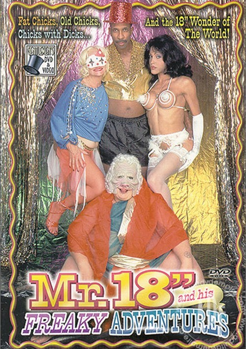 """Mr. 18"""" and His Freaky Adventures Boxcover"""