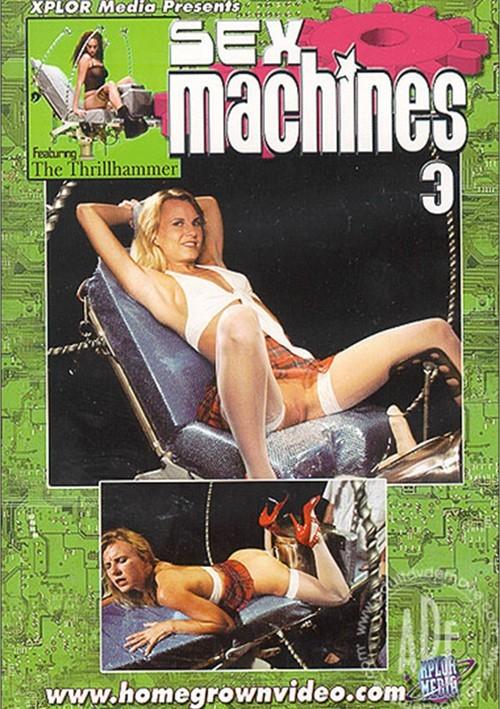 Sex Machines 3 Boxcover