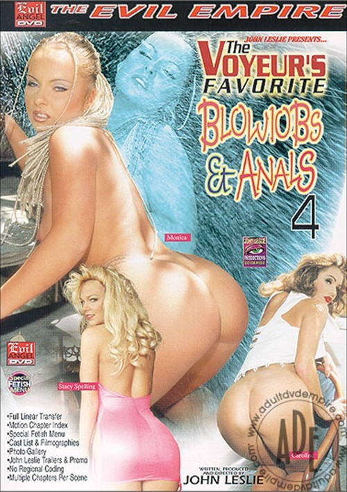 Voyeur's Favorite Blowjobs & Anals 4, The Boxcover