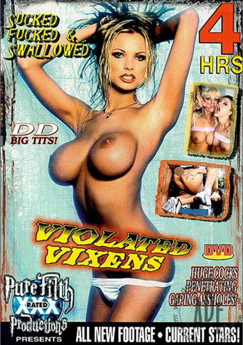 Violated Vixens Boxcover