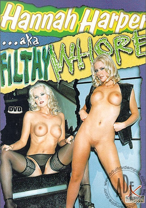 Hannah Harper AKA Filthy Whore Boxcover