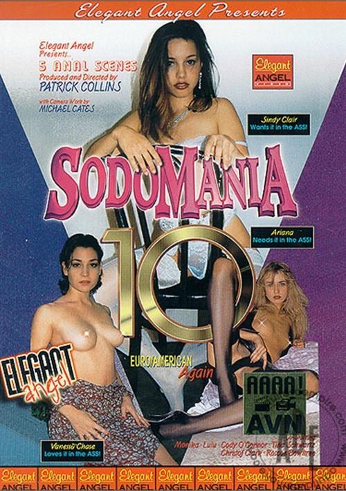Sodomania 10: Euro/American Again Boxcover