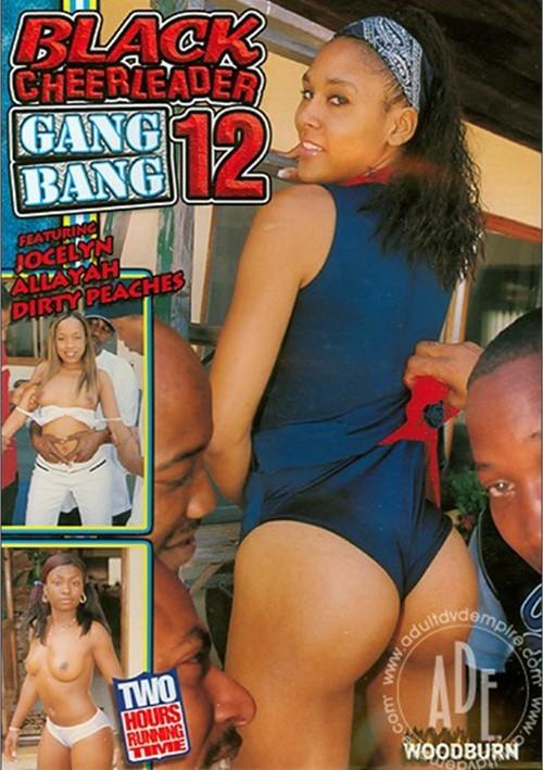 Black Cheerleader Gang Bang 12 Boxcover