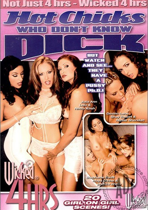 Hot Chicks Who Don't Know Dick Boxcover