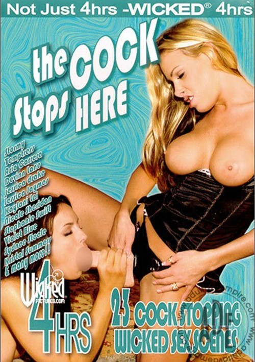 Cock Stops Here, The Boxcover