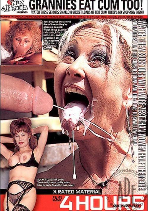 Granny Cum Eat