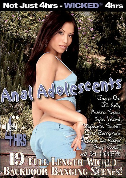 Anal Adolescents Boxcover