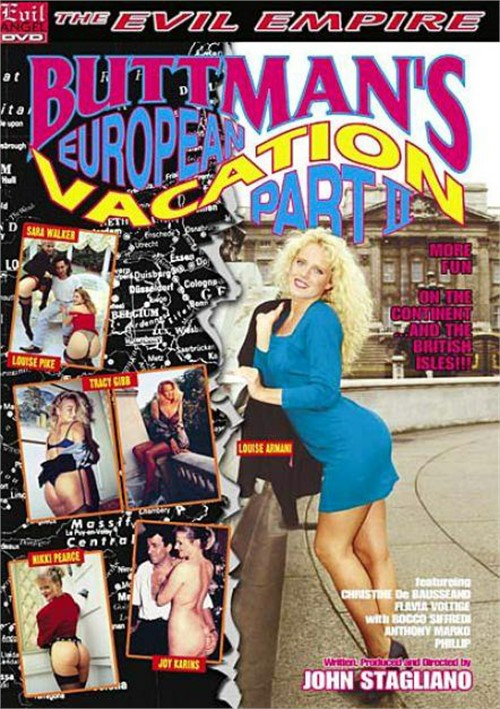 Buttman's European Vacation 2 Boxcover