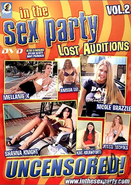 In The Sex Party: Lost Auditions Vol. 2 Boxcover