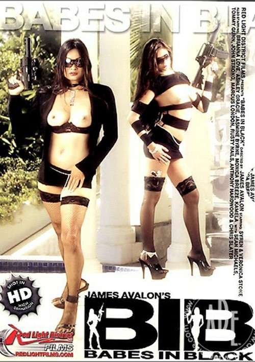 Babes In Black Boxcover