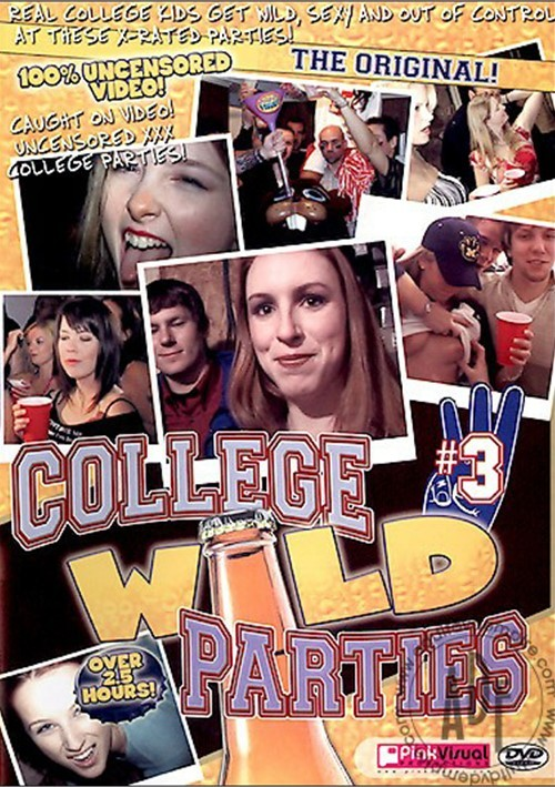 College Wild Parties #3 Boxcover