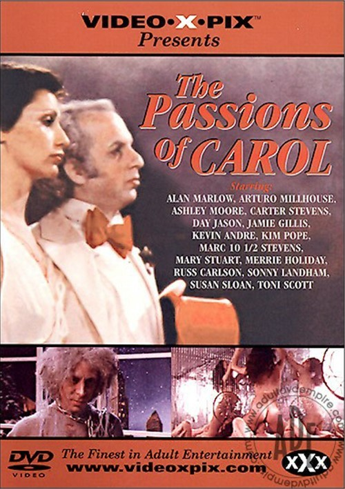 Passions of Carol, The Boxcover