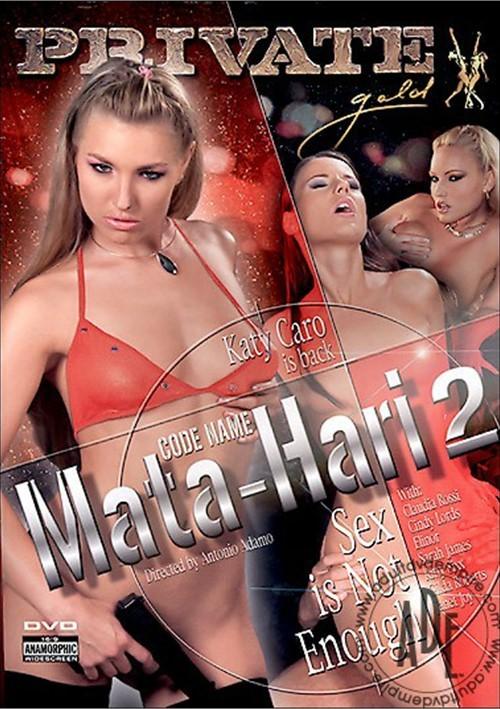 Code Name Mata-Hari 2: Sex is Not Enough Boxcover