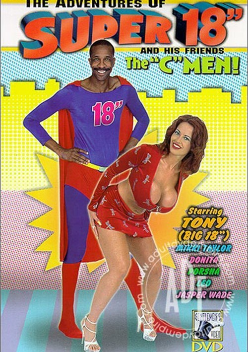 "Adventures of Super 18"" and His Friends The C-Men! Boxcover"