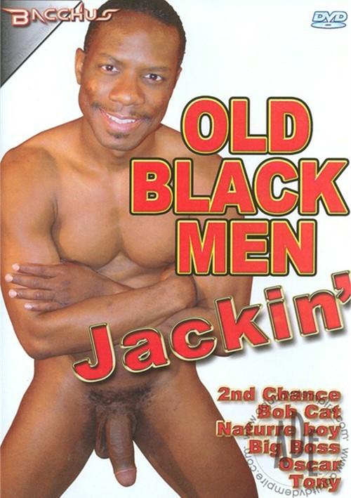 Muscular black man masturbates