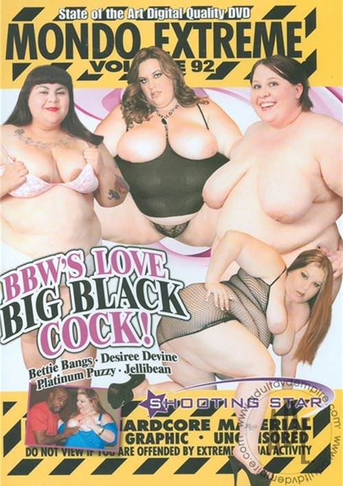 Mondo Extreme 92: BBW's Love Big Black Dick | Shooting Star | Unlimited  Streaming at Adult Empire Unlimited