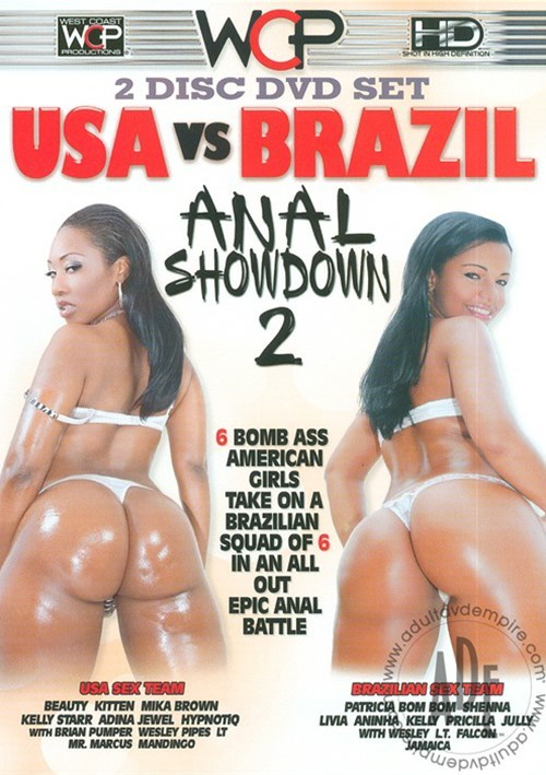 anal orgasm dvd - Divine Gal Gets an Intense Anal Orgasm from USA Vs Brazil Anal Showdown 2 |  West Coast Productions | Adult DVD Empire Unlimited