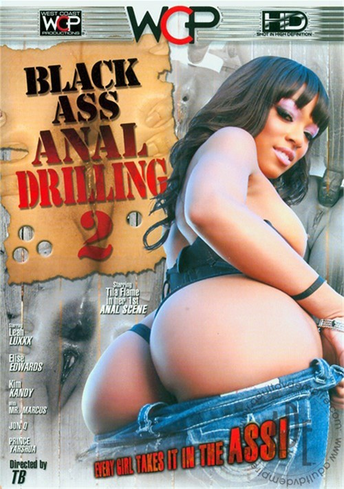 Anal filled with black cum