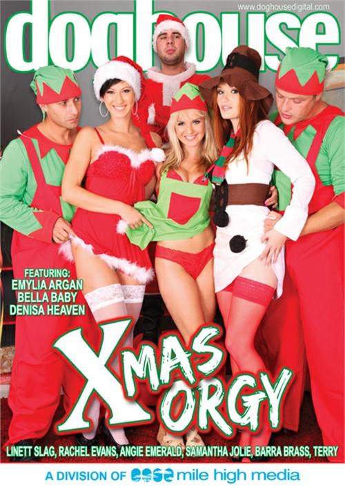 Xmas guys enjoy orgy